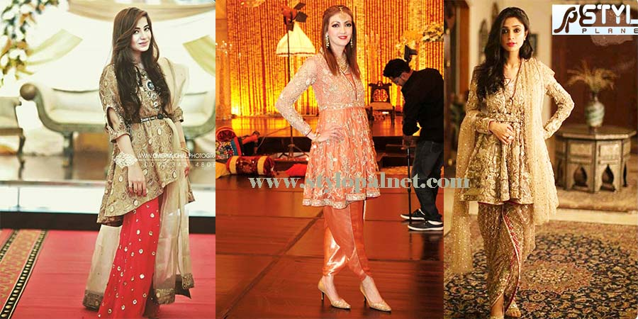 Latest Fashion Of Pakistani And Indian Frocks 2016 2017 Designs Stylo Planet