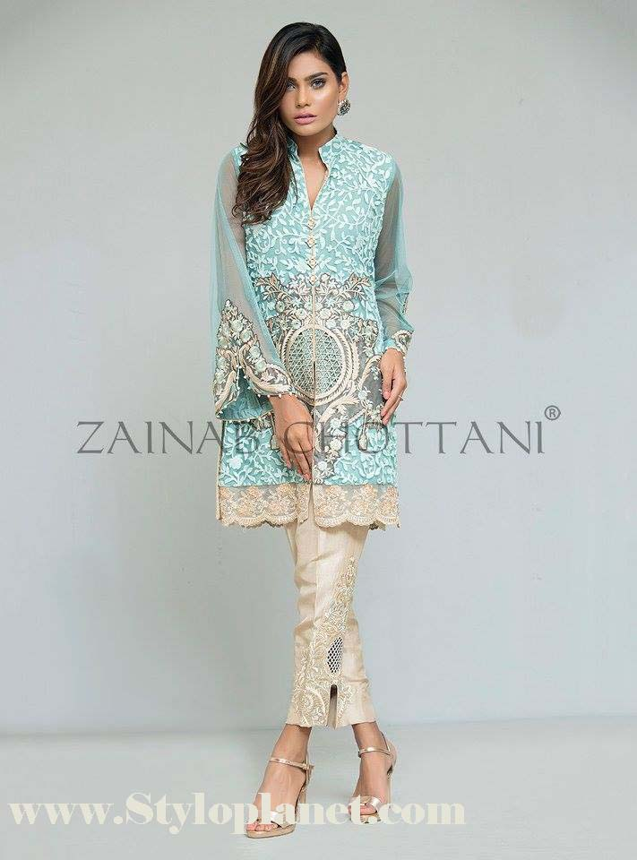 Zainab Chottani Premium Embroidered Eid Collection 2016-2017 (10)