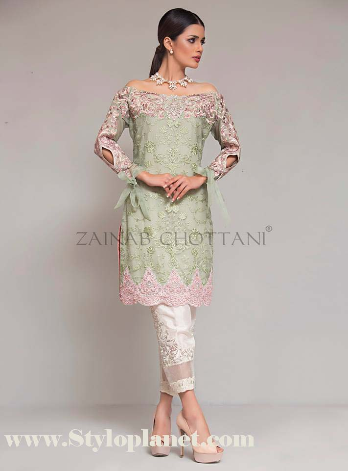 Zainab Chottani Premium Embroidered Eid Collection 2016-2017 (11)