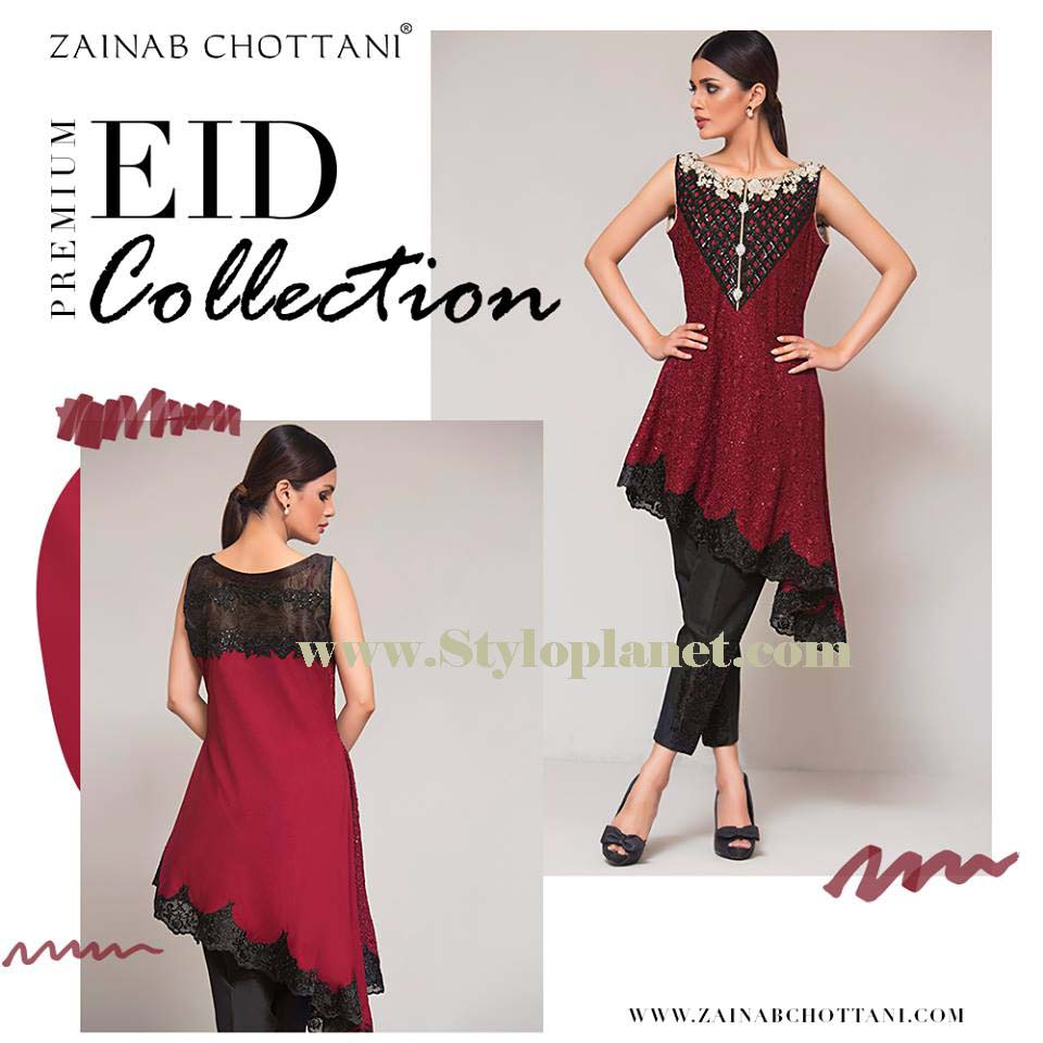 Zainab Chottani Premium Embroidered Eid Collection 2016-2017 (12)