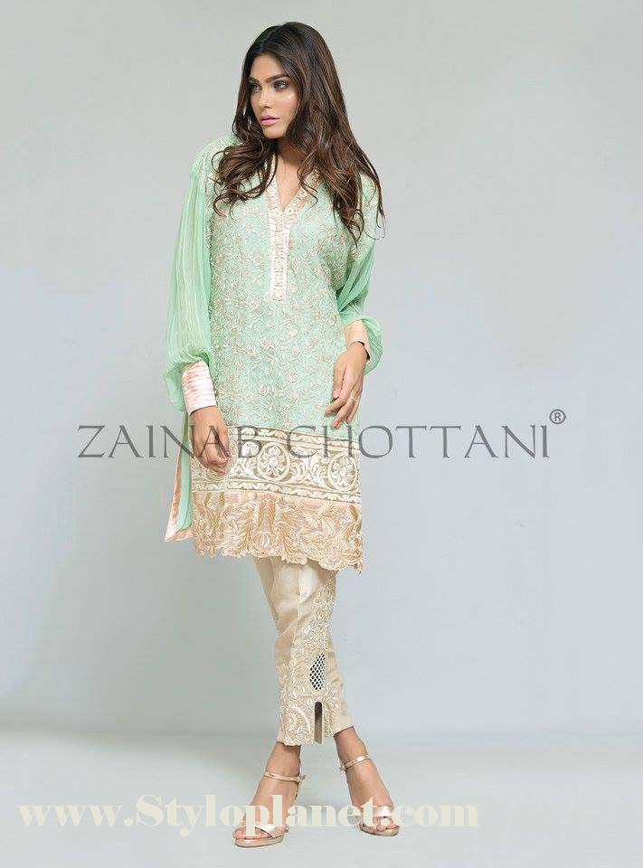 Zainab Chottani Premium Embroidered Eid Collection 2016-2017 (13)