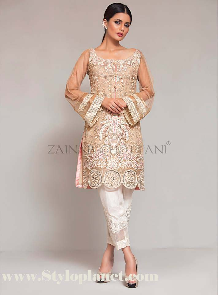 Zainab Chottani Premium Embroidered Eid Collection 2016-2017 (14)
