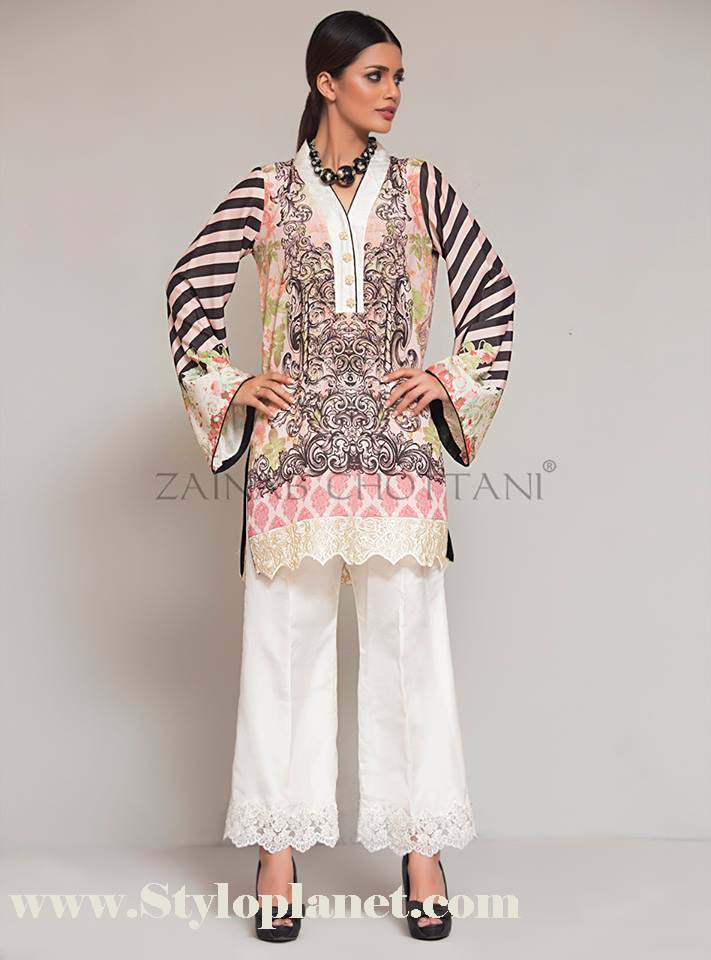 Zainab Chottani Premium Embroidered Eid Collection 2016-2017 (15)