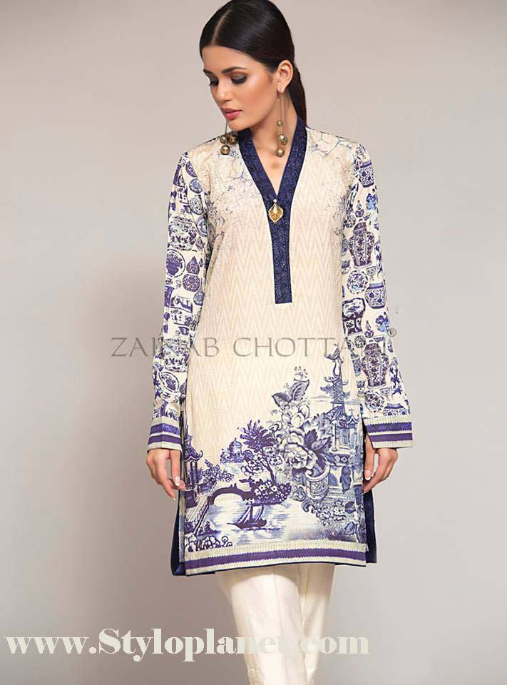 Zainab Chottani Premium Embroidered Eid Collection 2016-2017 (17)