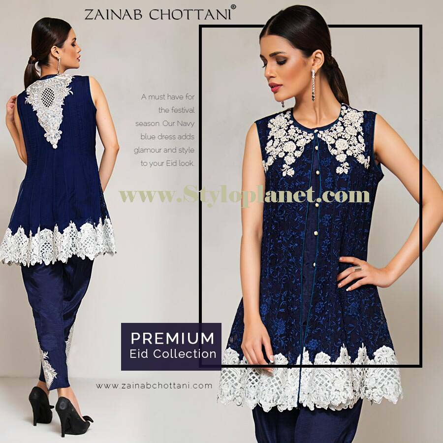 Zainab Chottani Premium Embroidered Eid Collection 2016-2017 (2)