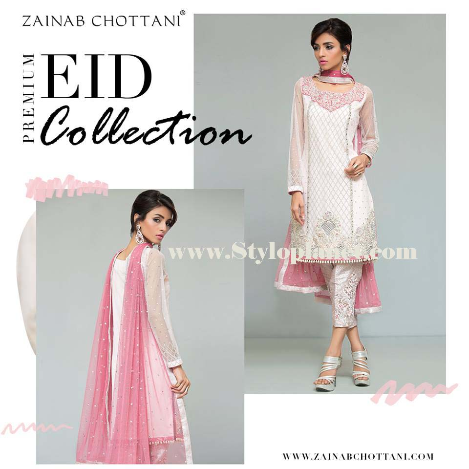 Zainab Chottani Premium Embroidered Eid Collection 2016-2017 (5)