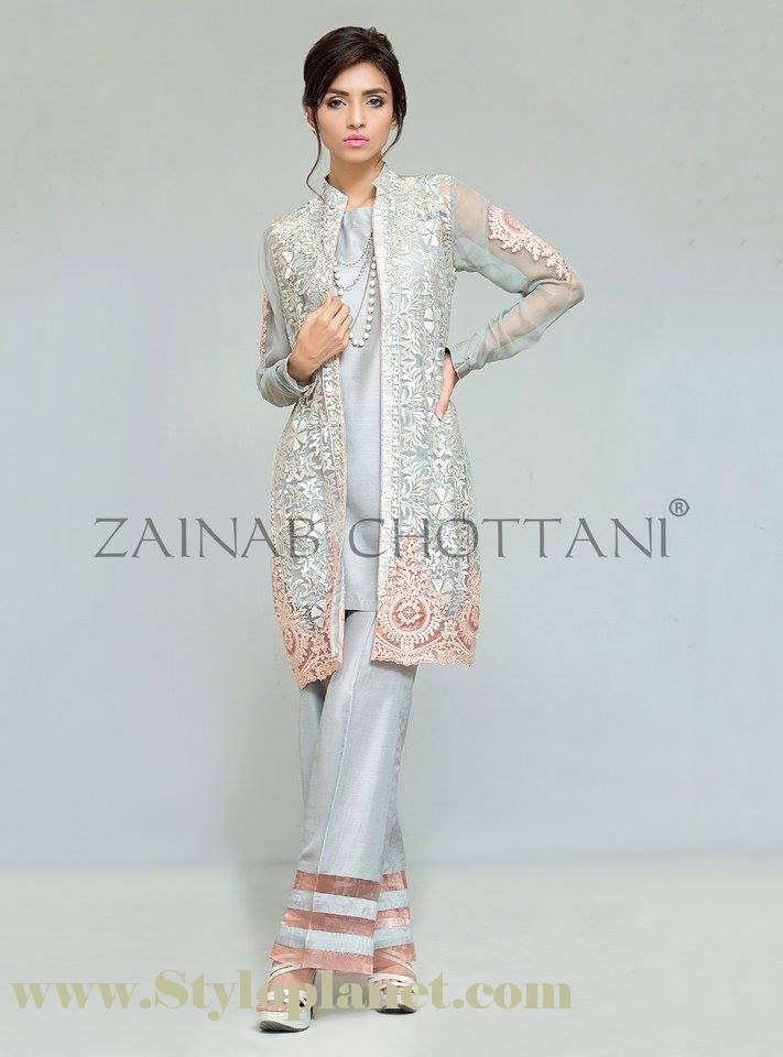 Zainab Chottani Premium Embroidered Eid Collection 2016-2017 (8)