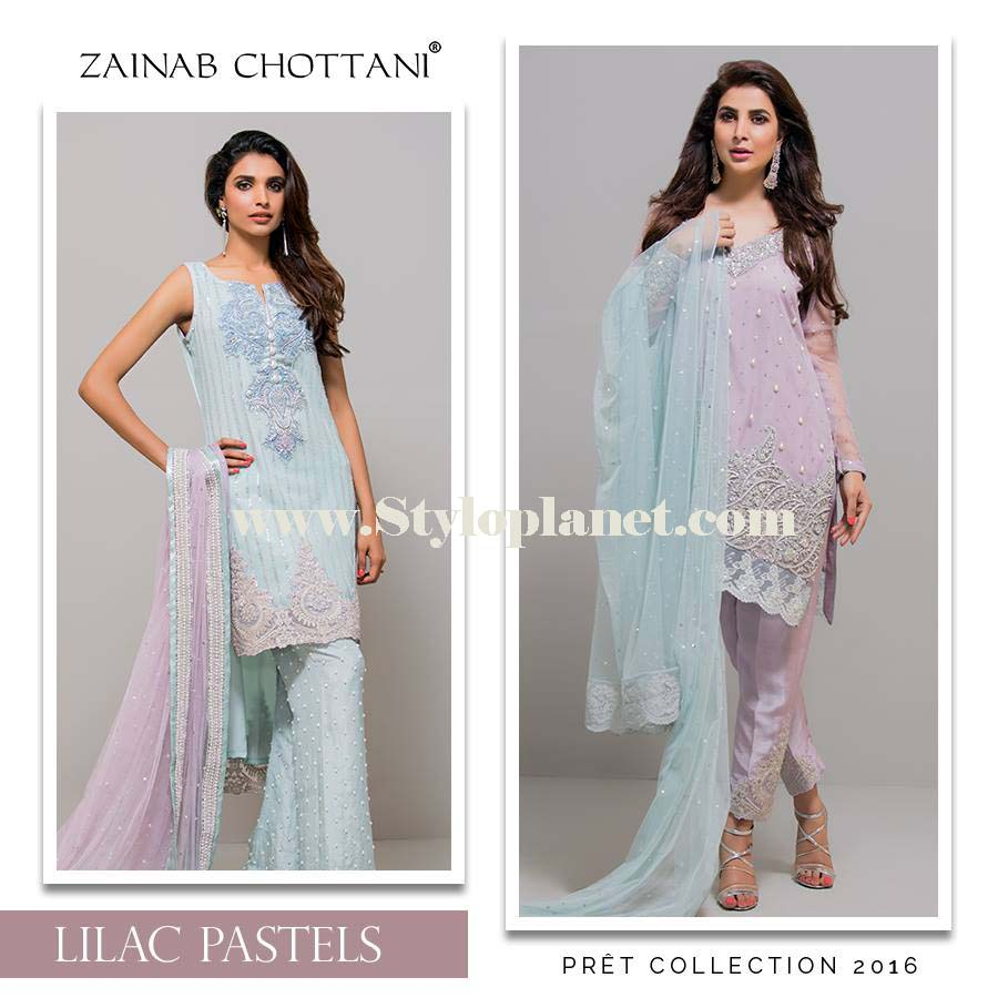 Zainab Chottani Premium Embroidered Eid Collection 2016-2017 (9)
