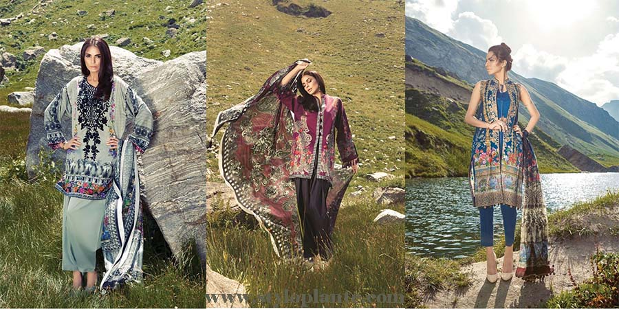 Ethnic By Outfitters Stylish Winter Suits Collection for Women 2016-2017