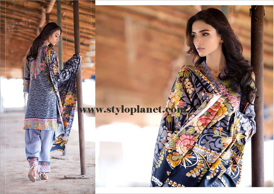 Firdous Cloth Mills Winter Dresses