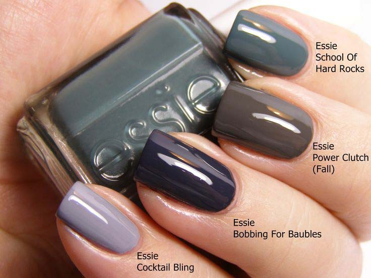 Best Fall/Winter Nail Paint Colors 2016-2017   Stylo Planet