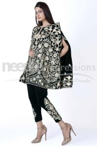 cape-style-dresses-for-women-by-pakistani-designers-2016-2017-9