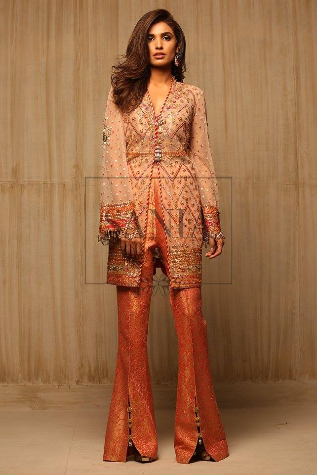 Party wear luxury pret by sania maskatiya stylo planet for New design pic