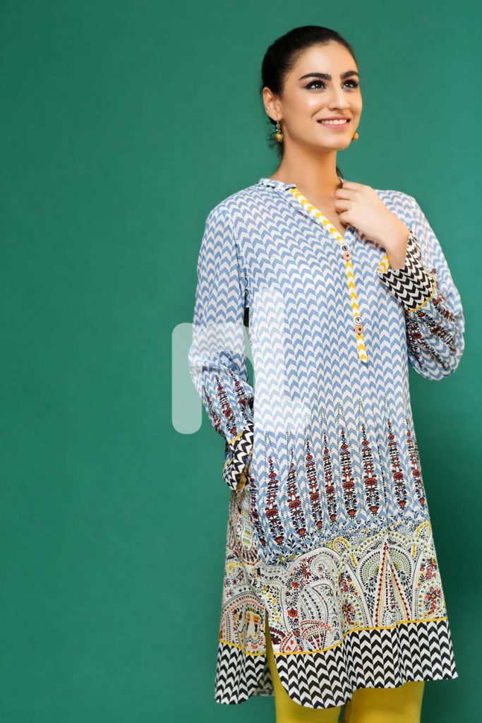 Nishat Linen Kurtis Collection 2016