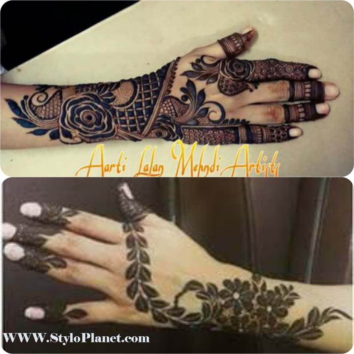 Mehndi Designs 2018 : Latest hand mehndi designs image gallery stylo planet