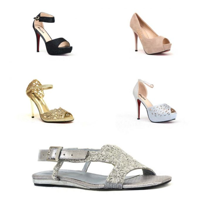 Latest Wedding Wear Shoes for Brides by Borjan