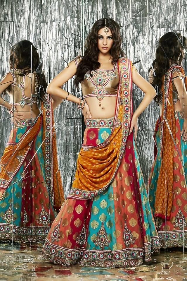 Indian mehndi dresses 2018 fashion