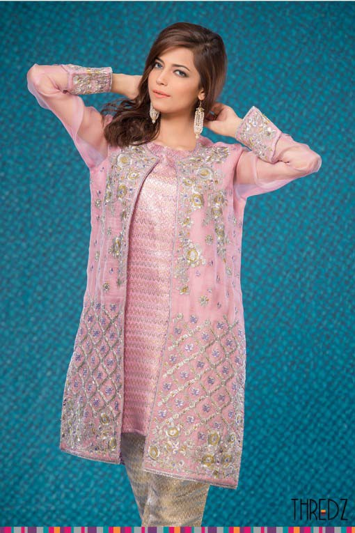 Pakistani Designers Latest Kurtas Collection for Women 2017-2018