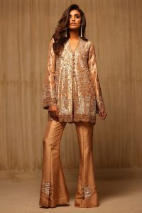 stylish-pakistani-designers-dresses-with-bell-bottom-pantstrousers-2017-1