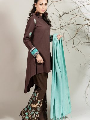 stylish-pakistani-designers-dresses-with-bell-bottom-pantstrousers-2017-2
