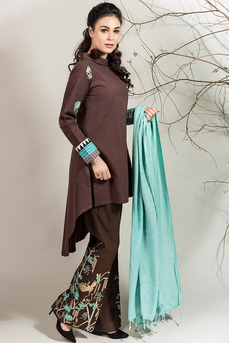 Pakistani Dresses With Bell Bottom trousers | Stylo Planet