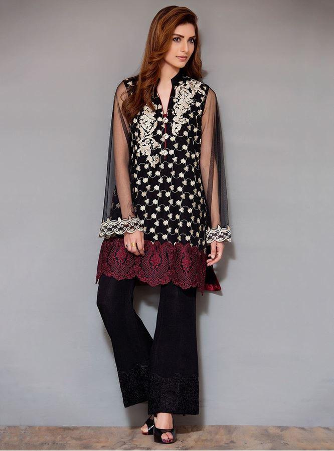 5d53e7128b61 stylish-pakistani-designers-dresses-with-bell-bottom-pantstrousers-2017-3