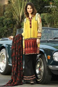 stylish-pakistani-designers-dresses-with-bell-bottom-pantstrousers-2017-3