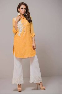 stylish-pakistani-designers-dresses-with-bell-bottom-pantstrousers-2017-7