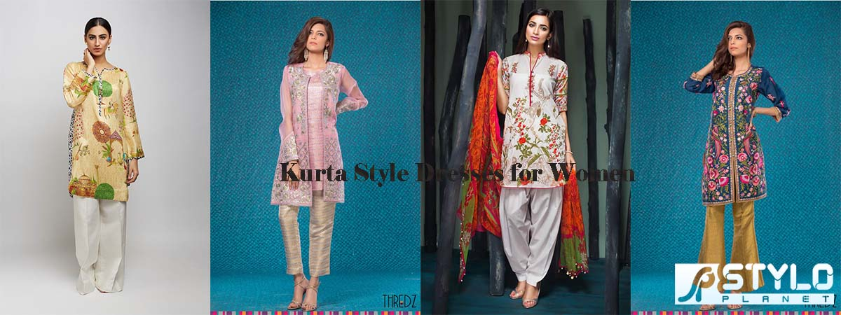Latest Formal Kurta Style Dresses for Women   Stylo Planet