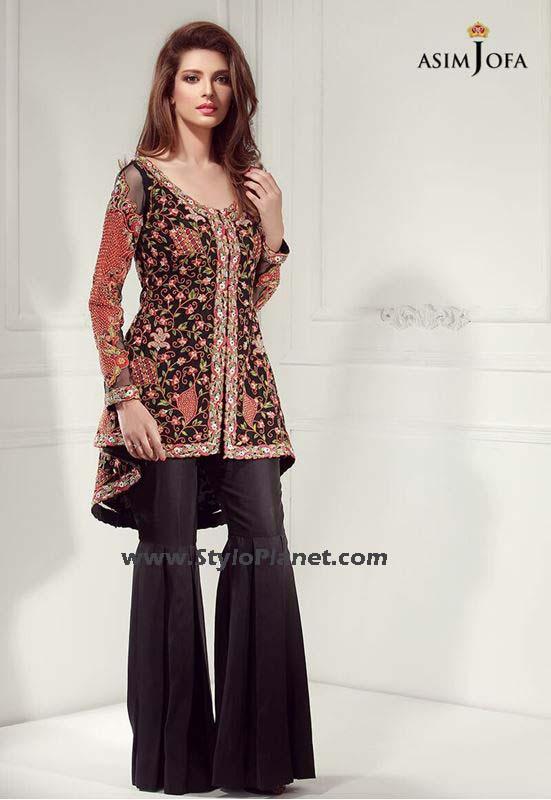 stylish party wear gharara sharara trousers stylo pla