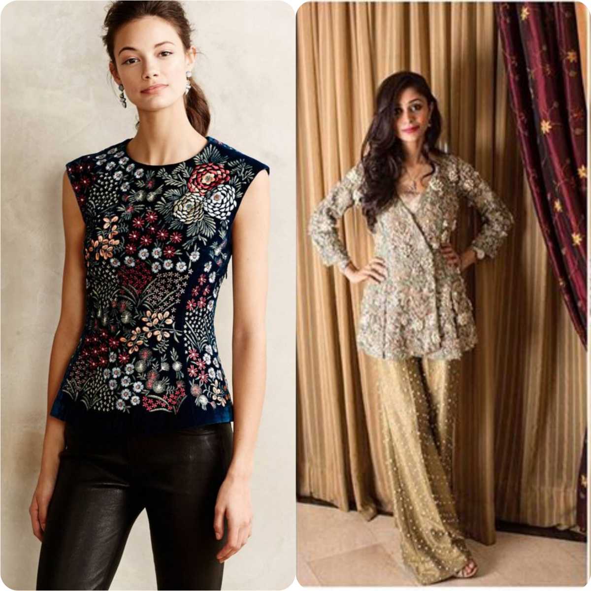 aa4f8bcdfd Beautiful Peplum Shirts/Tops latest Design | Stylo Planet