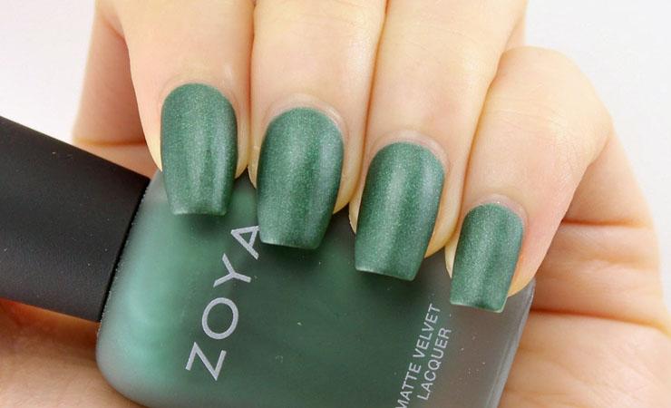 Winter Green Nail Polish Color