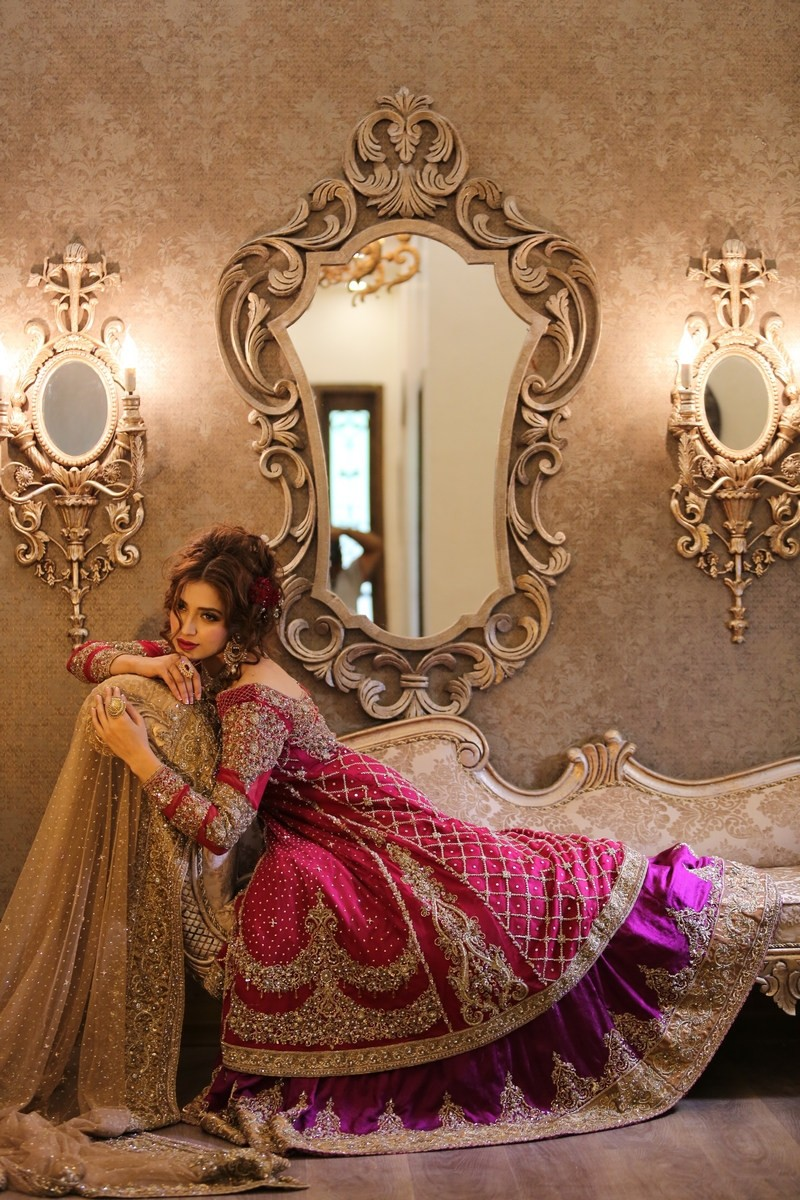 Famous Pakistani Designers Bridal Dresses-Top 10
