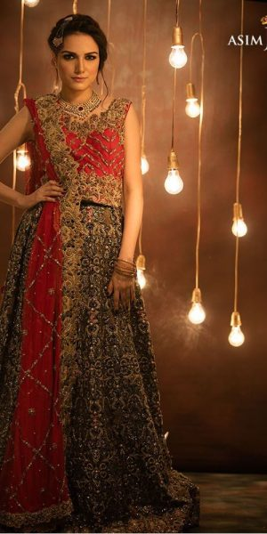 Top 10 Popular Pakistani Designers Bridal Dresses Collection 2017 (1)