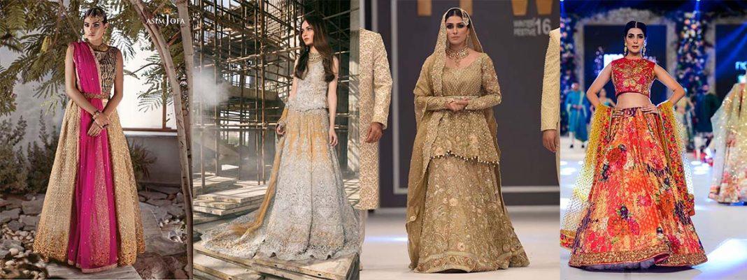 Top 10 Popular Pakistani Designers Bridal Dresses Collection 2017 2018 Stylo Planet