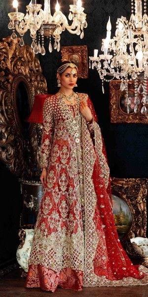 Top 10 Popular Pakistani Designers Bridal Dresses Collection 2017 (3)