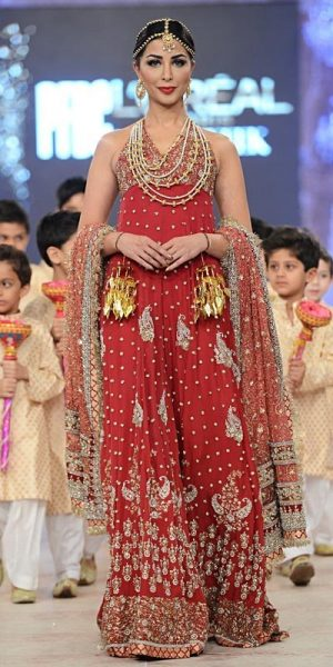 Top 10 Popular Pakistani Designers Bridal Dresses Collection 2017 (5)