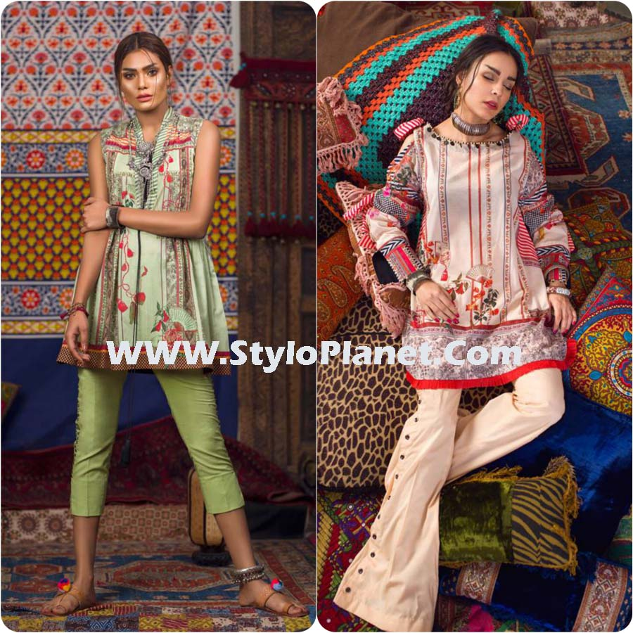 Lawn Dresses for Women 2107