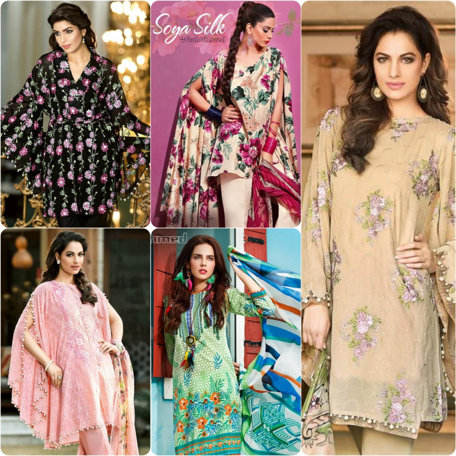 badfd8eb6 Latest Gul Ahmed Summer Dresses 2017 for Women