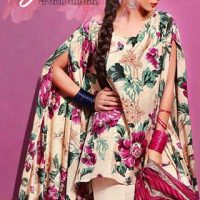 Gul Ahmed Summer Silk & Chiffon Dresses Collection 2017-2018 (3)
