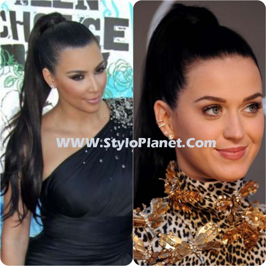 High Ponytail style