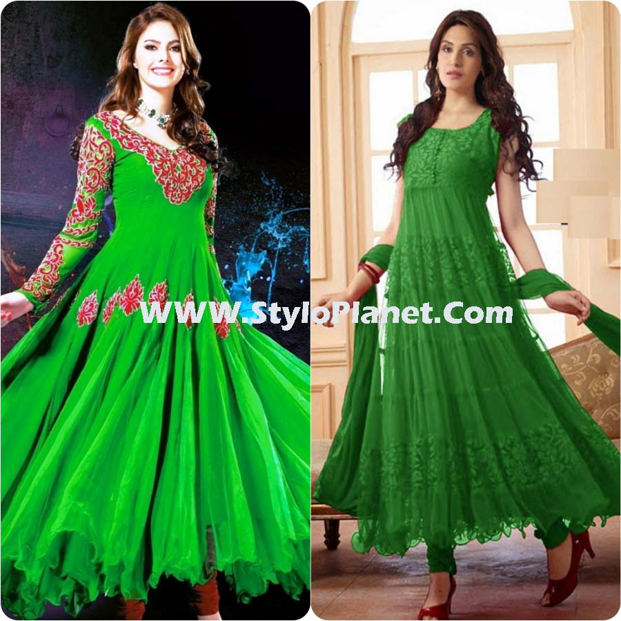 Asian Umbrella Frocks Designs Collection 2017 Stylo Planet