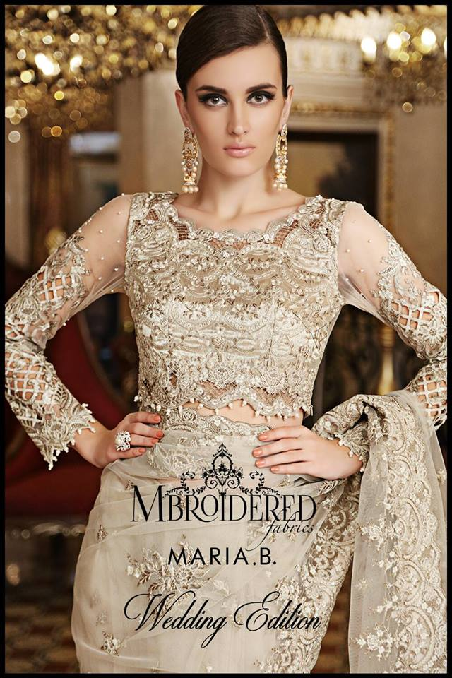 3b92981996 Maria.B Latest Bridal Dresses Collection 2017