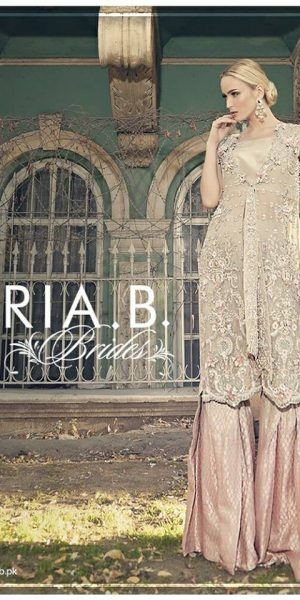 Maria.B Latest Bridal Wedding Dresses Collection 2017-2018 (3)