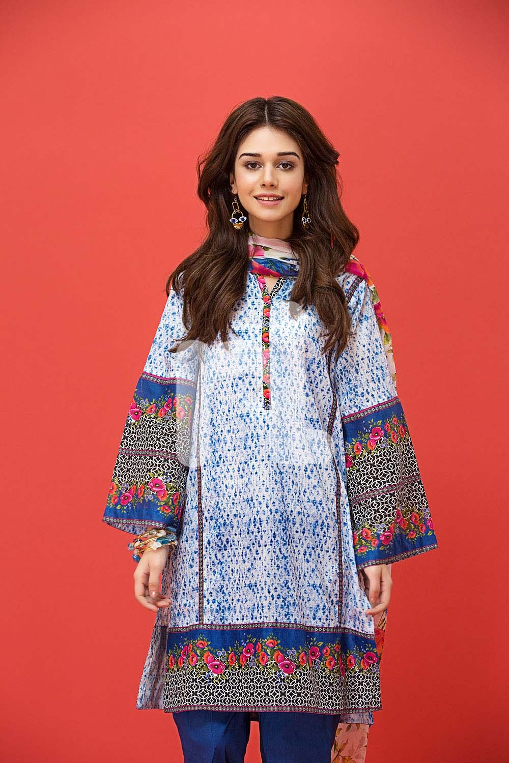 a24f70a88fe latest Women Summer Dresses by Nishat Linen