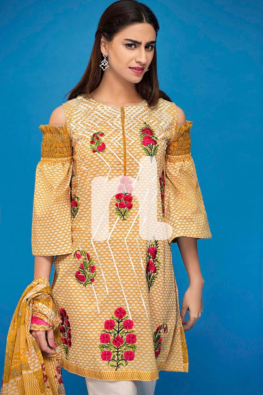 latest Women Summer Dresses by Nishat Linen