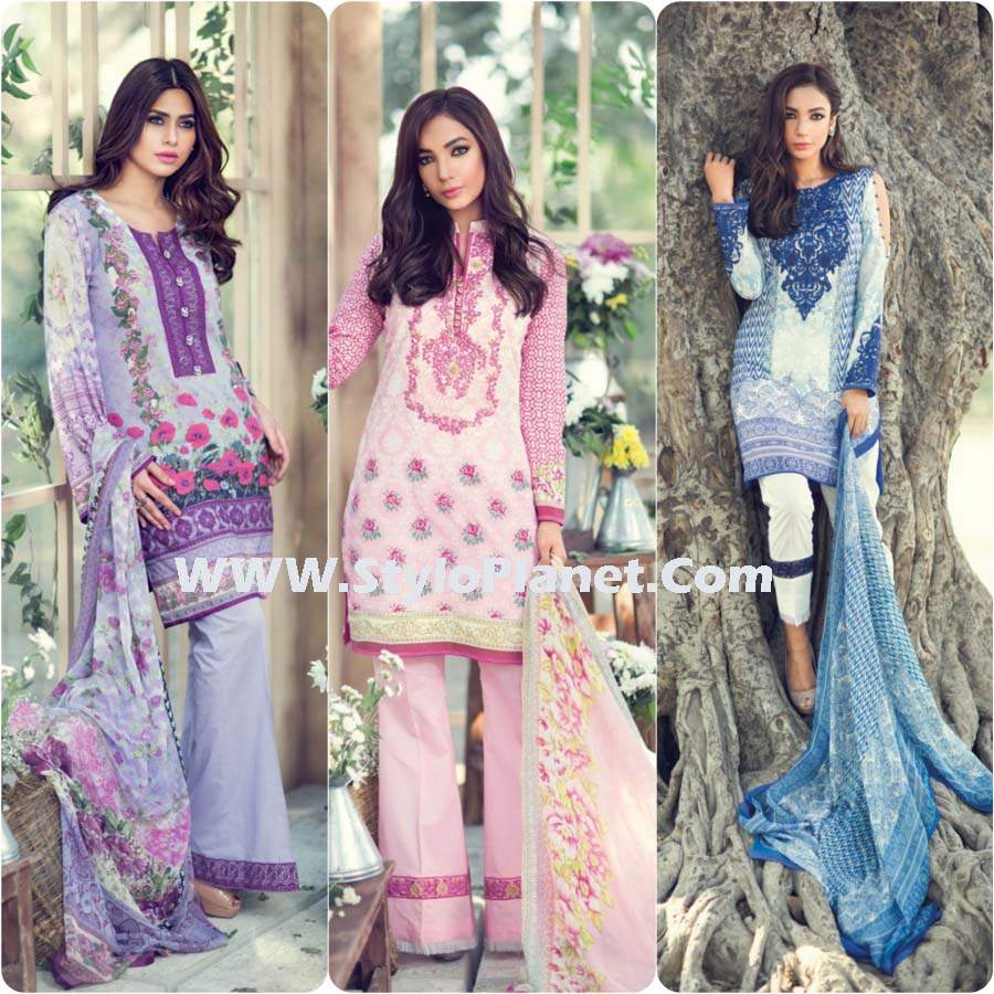 Gulaal Summer Lawn Dresses Volume 1 Collection 2017-2018