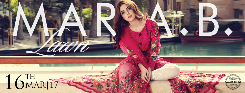 Maria.B Latest Summer Lawn Collection 2017-18 for Women