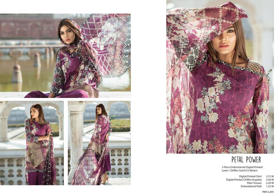 Mausummery Lawn Dresses Collection