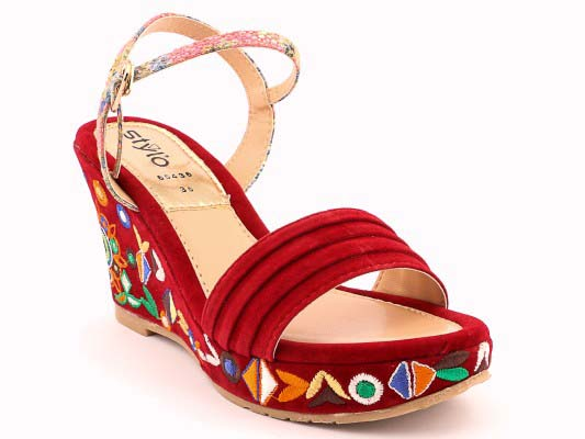 Stylo Shoes Fancy Wedges Design